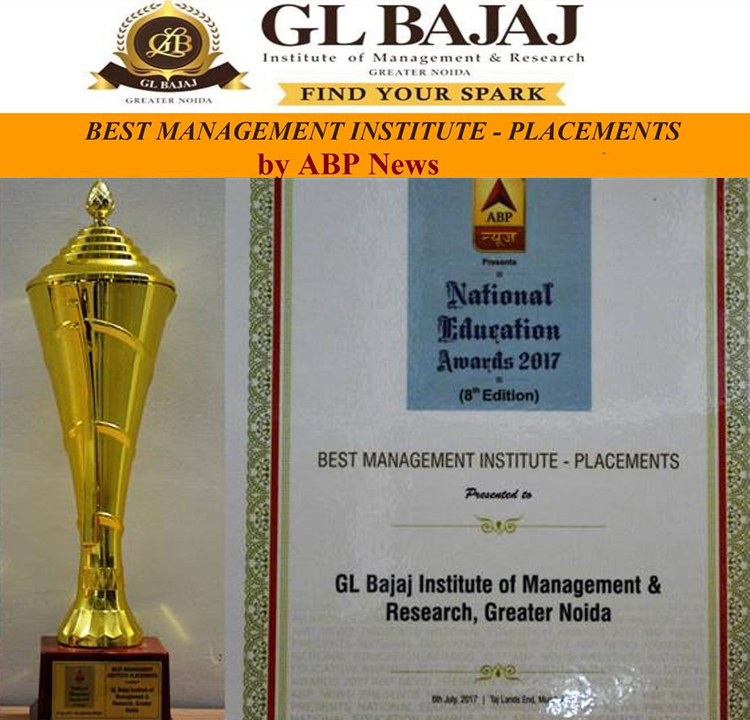 Best Management Institute Award